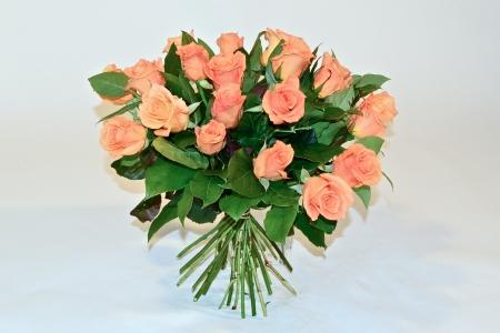 Boeket oranje rozen