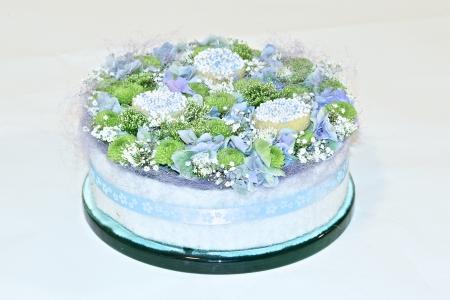 Geboorte taartje zoon