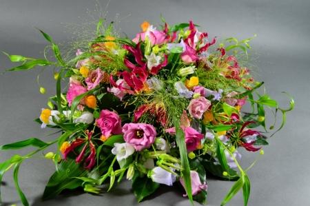 Kleurrijke rouwbiedermeier