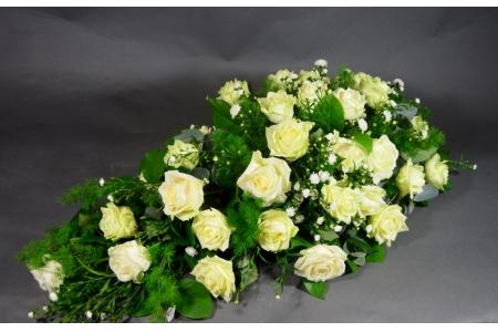 Rouwarrangement 'Simply Roses'