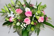 Boeket 'Floral explosion'