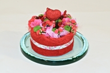 'Omdat ik van je hou' taart