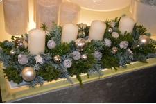 Tafelstuk met 4 kaarsen